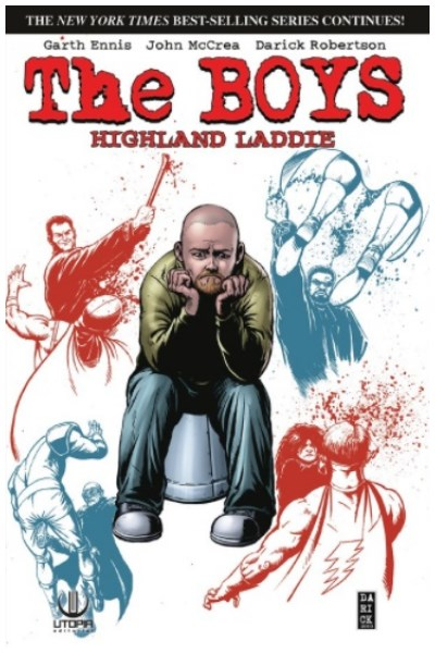 Comic The Boys 08: Highland Laddie