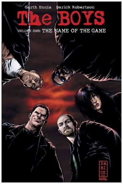 Comic The Boys 01: El Nombre Del Juego