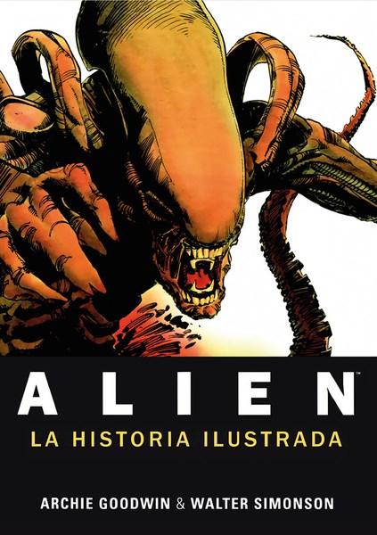 Comic Alien La Historia Ilustrada