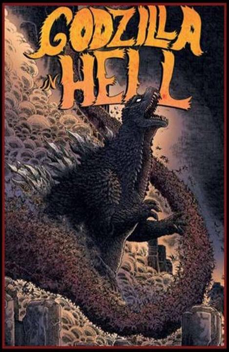 Comic Godzilla In Hell