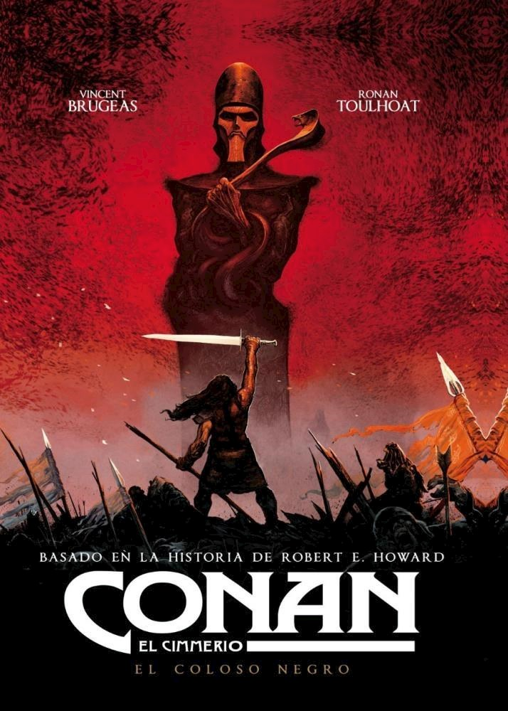 Comic Conan, El Cimmerio: El Coloso Negro