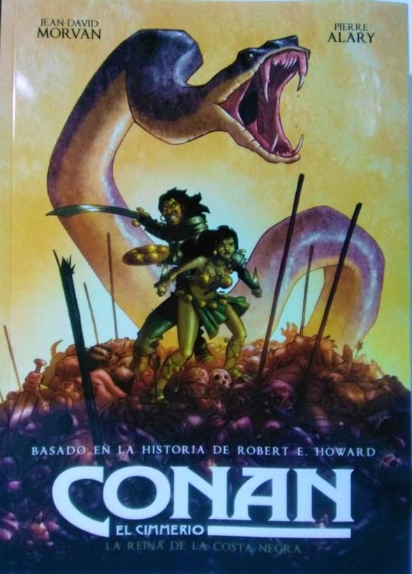 Comic Conan El Cimmerio 02: La Reina De La Costa Negra