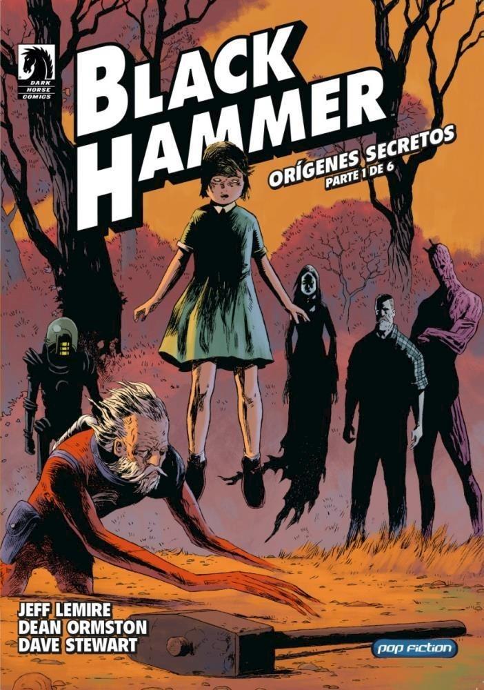 Comic Black Hammer Orígenes Secretos