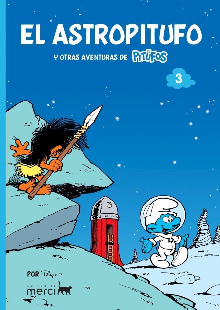 Comic Los Pitufos 03: El Astropitufo