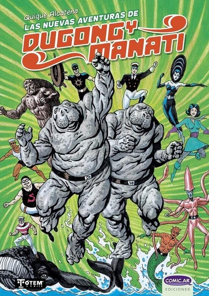 Comic Las Nuevas Aventuras De Dugong Y Manatí