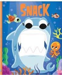 Papel Dientitos Feroces - Tiburón Snack