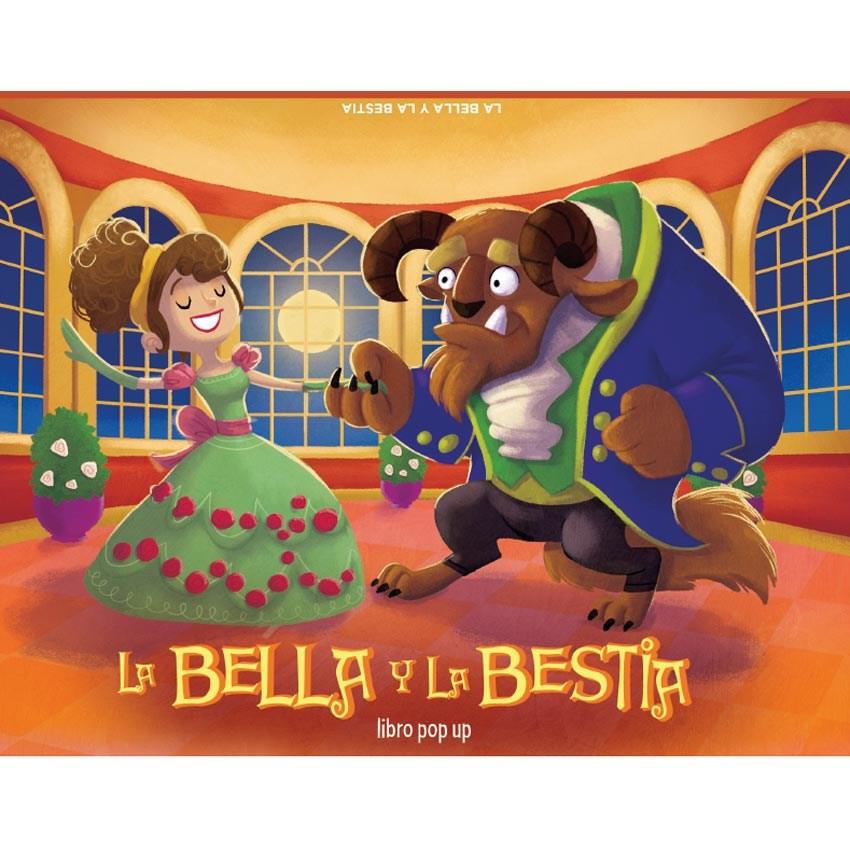 Papel Clásicos Pop Up - La Bella Y La Bestia