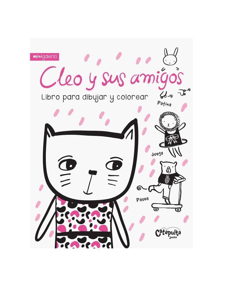 Papel Mini Galería: Cleo Y Sus Amigos