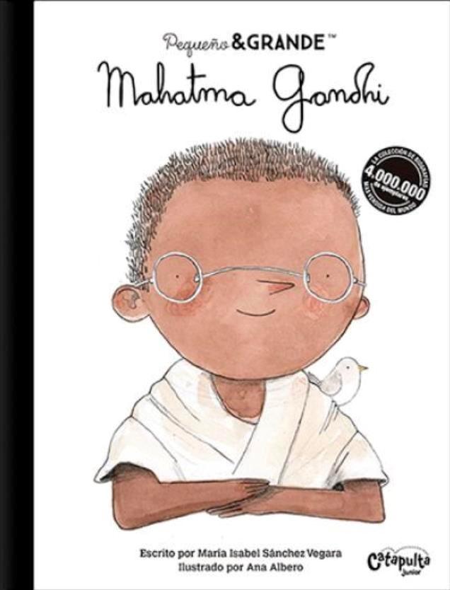 Papel Mahatma Gandhi - Peque?O Y Grande