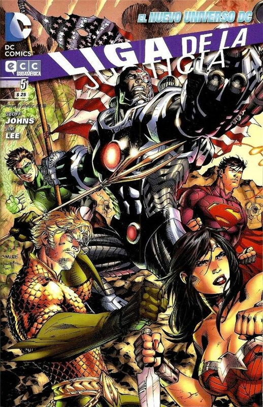 Comic Liga De La Justicia #5