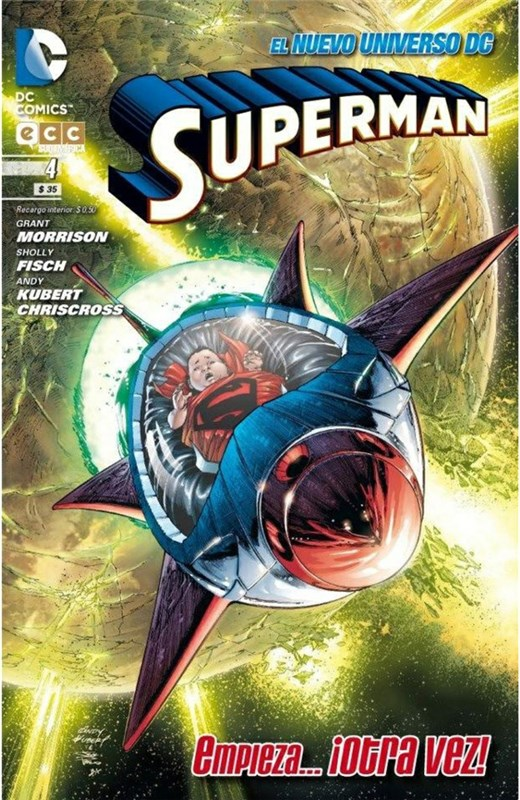 Comic Superman Núm. 04 (Nuevo Universo Dc)