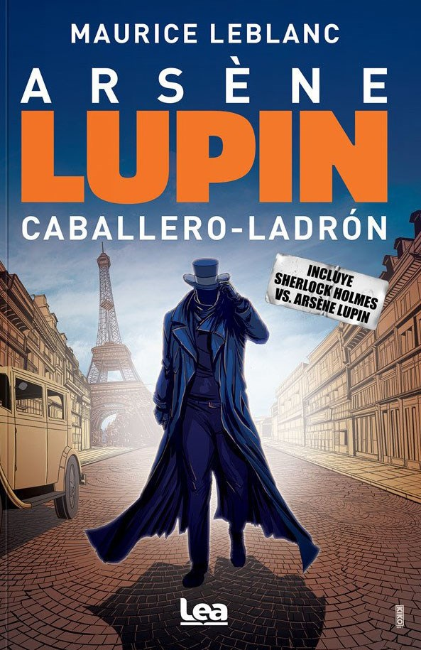 Papel Arsène Lupin. Caballero-Ladrón