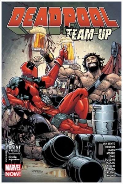 Comic Deadpool Team Up