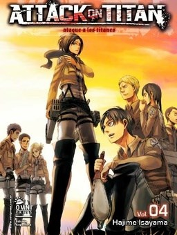Manga Attack On Titan 04