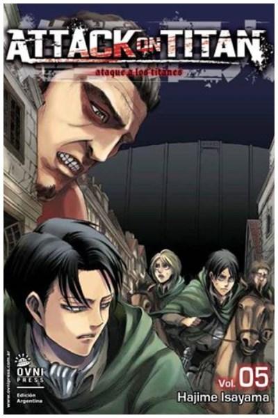 Manga Attack On Titan 05
