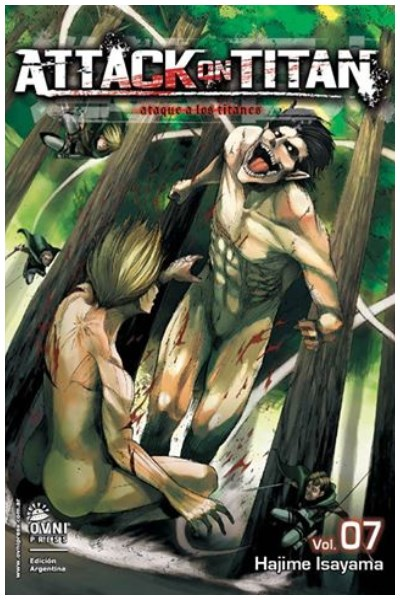Manga Attack On Titan 07