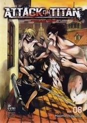 Manga Attack On Titan 08