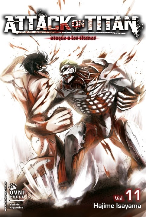 Manga Attack On Titan 11