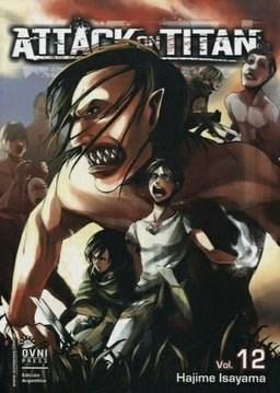 Manga Attack On Titan 12