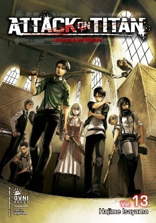 Manga Attack On Titan 13