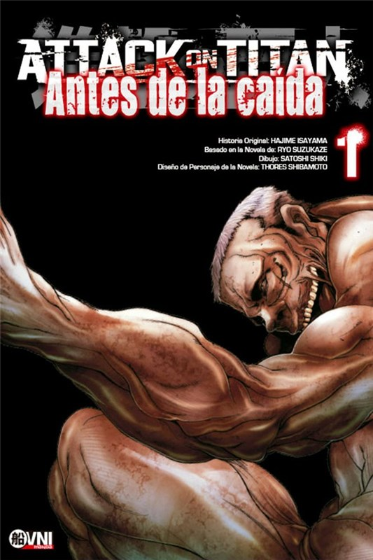 Manga Attack On Titan: Antes De La Caida 01