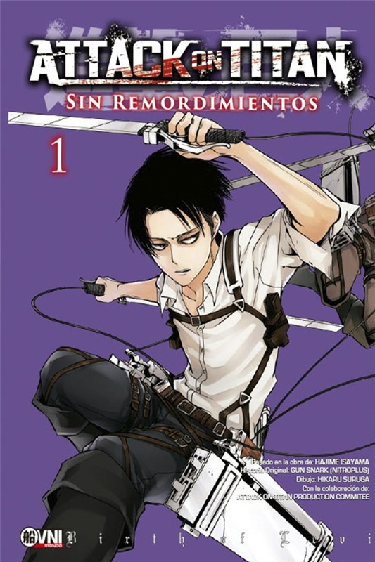 Manga Attack On Titan: Sin Remordimientos 01