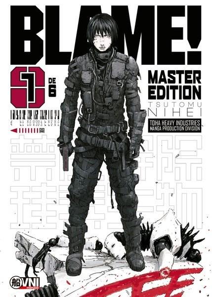 Manga Blame Master Edicion 01