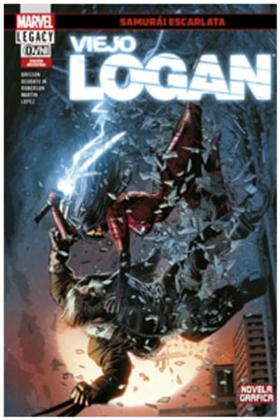 Comic Viejo Logan 07: Samurai Escarlata