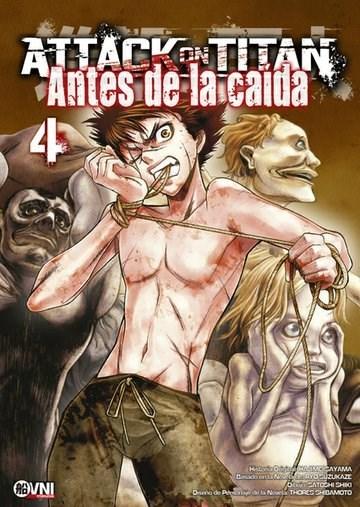 Manga Attack On Titan: Antes De La Caida 04