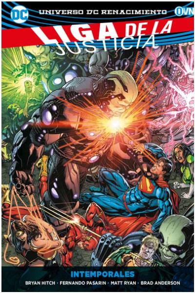 Comic Liga De La Justicia Vol. 03: Intemporales