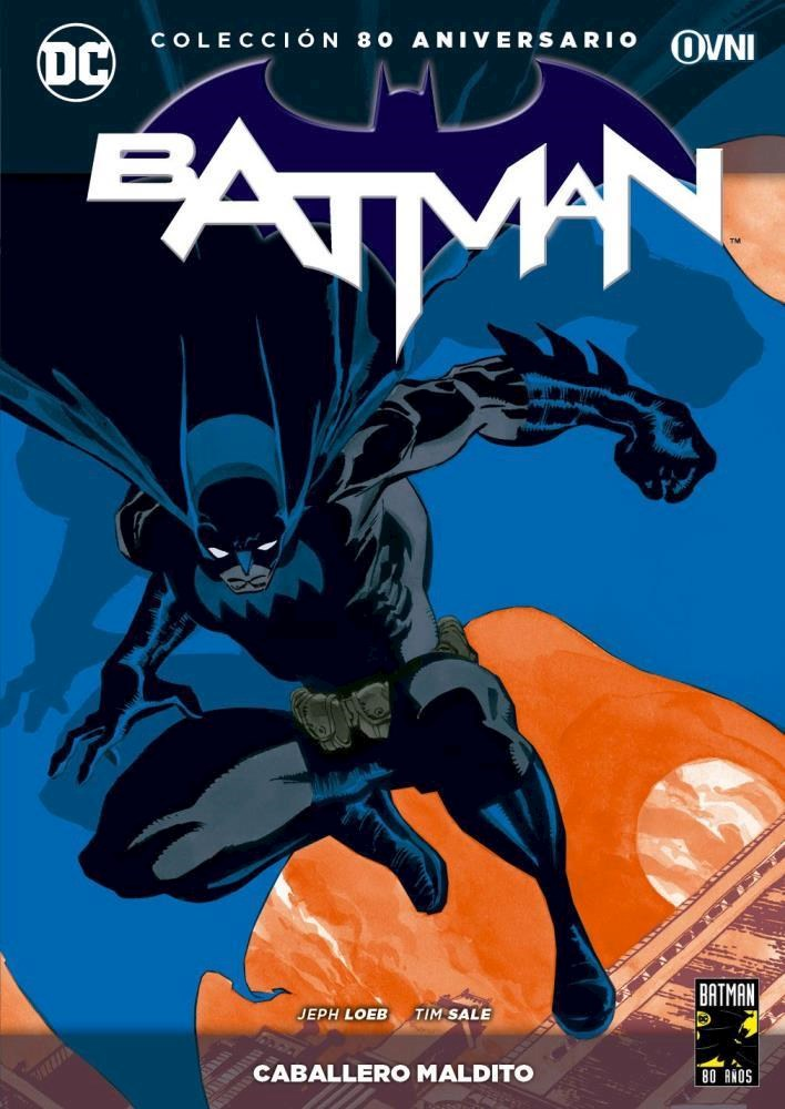 Comic Colección Batman 80 Aniversario - Caballero Maldito