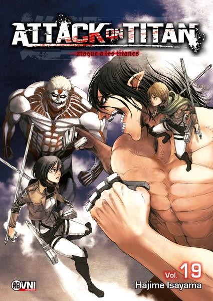 Manga Attack On Titan 19