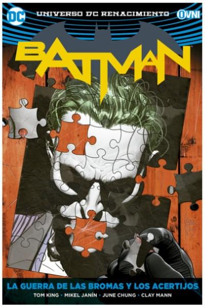 Comic Batman Vol. 04: La Guerra De Las Bromas Y Los Acertijos