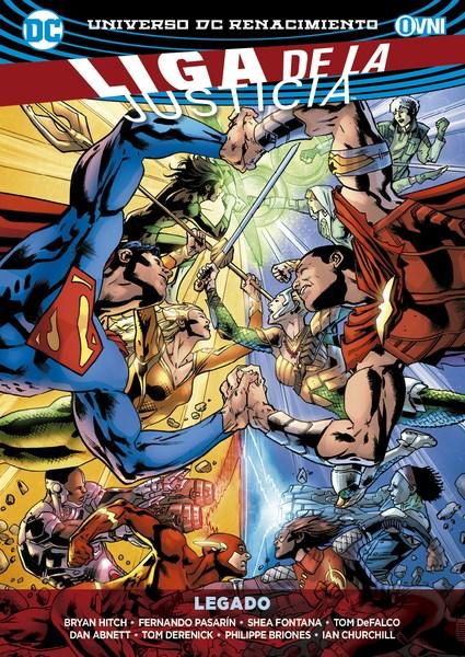 Comic Liga De La Justicia Vol. 04: Legado