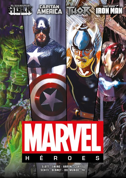Comic Marvel Héroes 01
