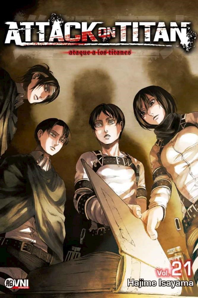 Manga Attack On Titan 21