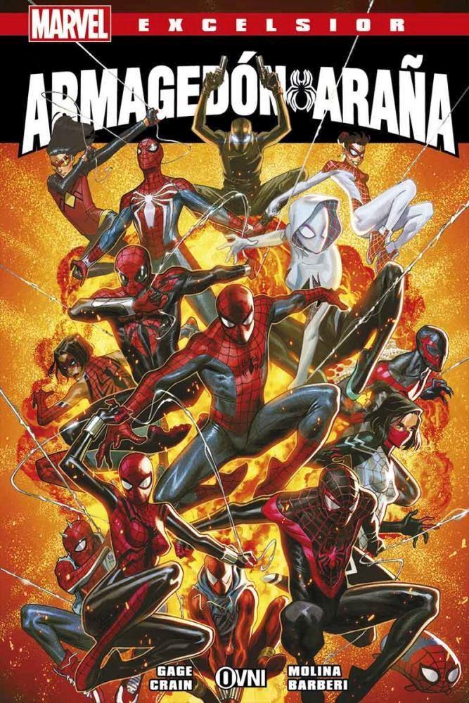 Comic Marvel Excelsior 36: Armagedon Araña