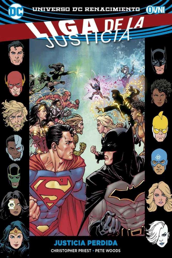 Comic La Liga De La Justicia Vol. 5: Justicia Perdida
