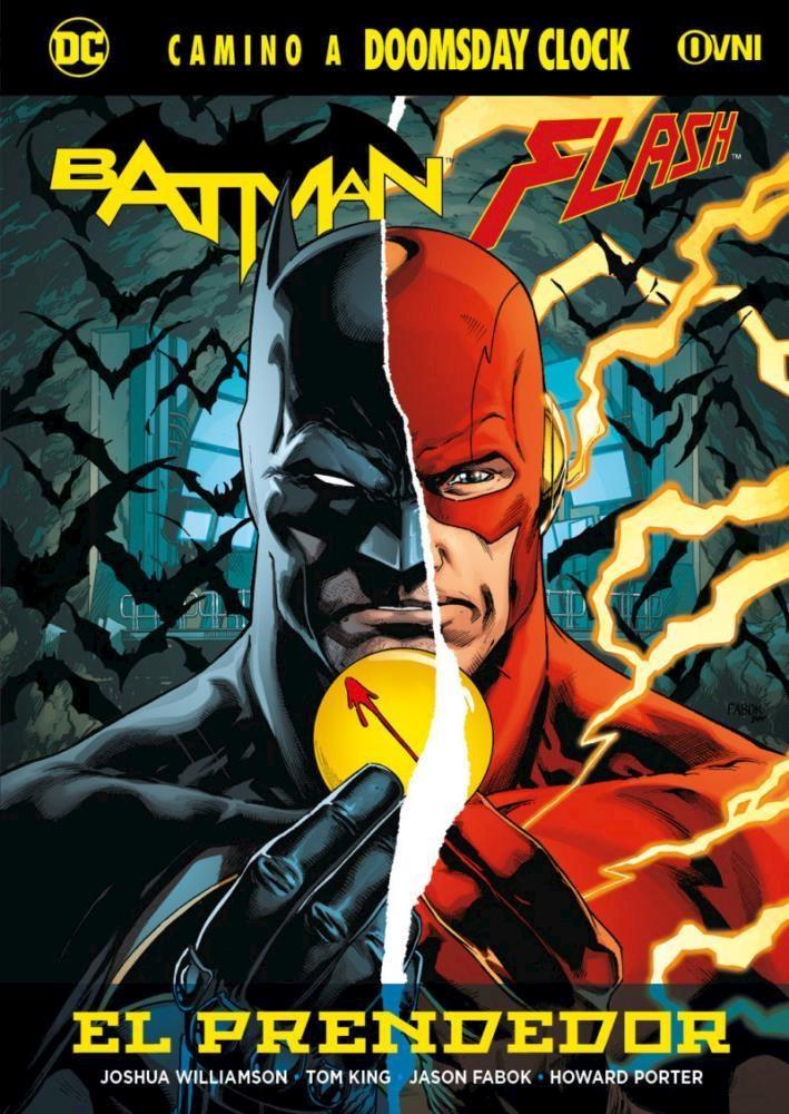 Comic Batman Flash: El Prendedor