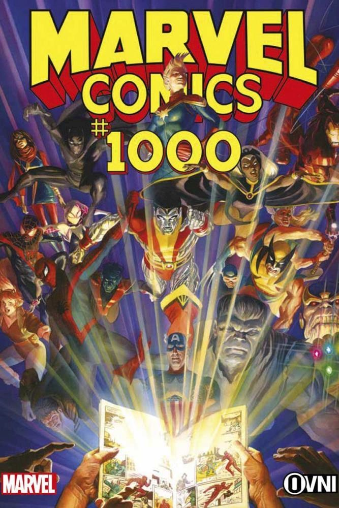 Comic Marvel Comics #1000