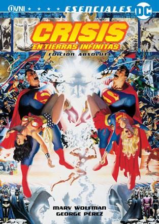 Comic Crisis En Tierras Infinitas (Incluye Poster Y 2 Postales)