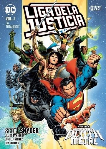 Comic La Liga De La Justicia Vol.1: La Totalidad