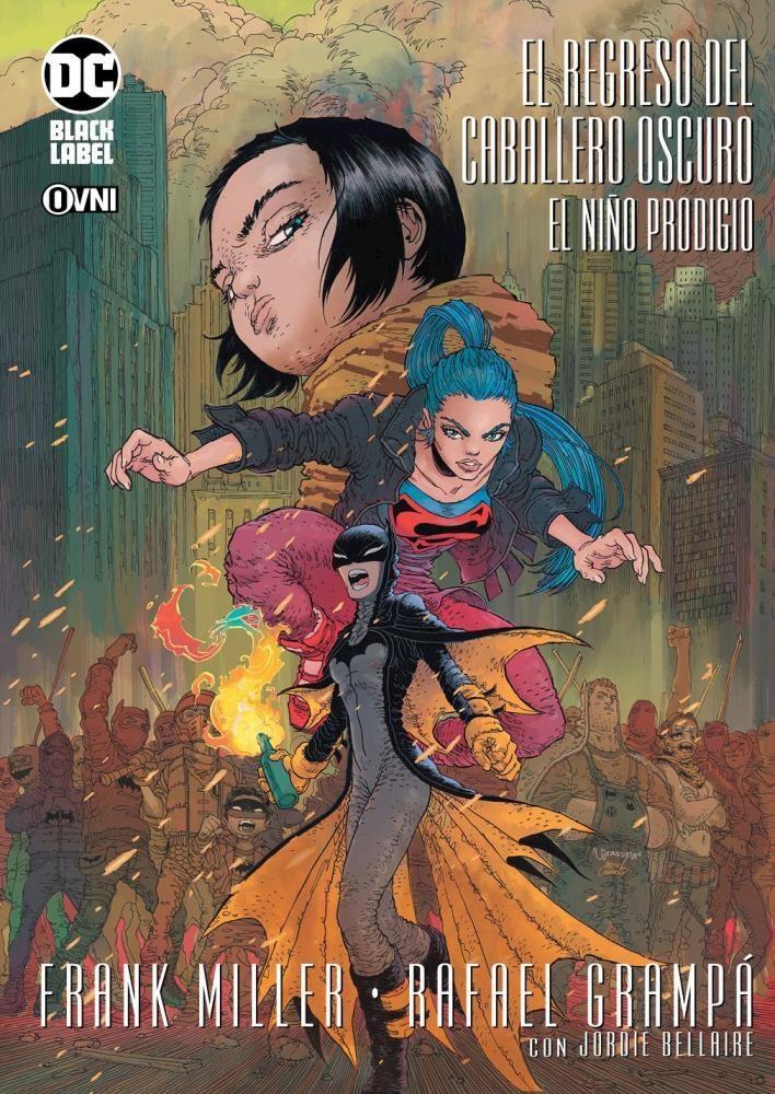Comic Batman: El Regreso Del Caballero Oscuro: El Niño Prodigio (Con Postales Adicionales)