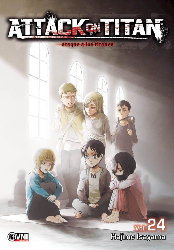 Manga Attack On Titan Vol. 24