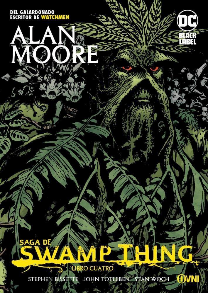 Comic Saga De Swamp Thing Libro Cuatro