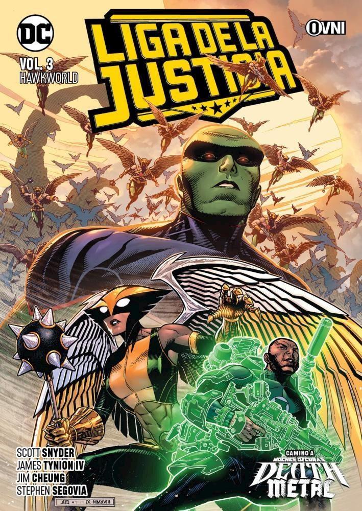 Comic Liga De La Justicia Vol. 3: Hawkworld