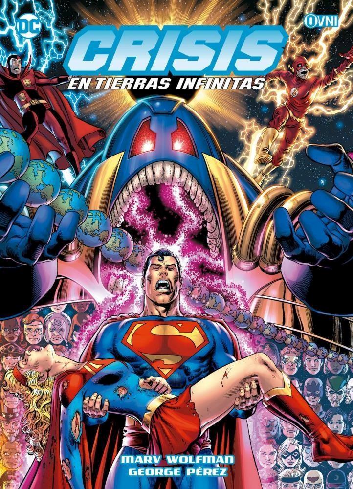 Comic Crisis En Tierras Infinitas Edición Deluxe