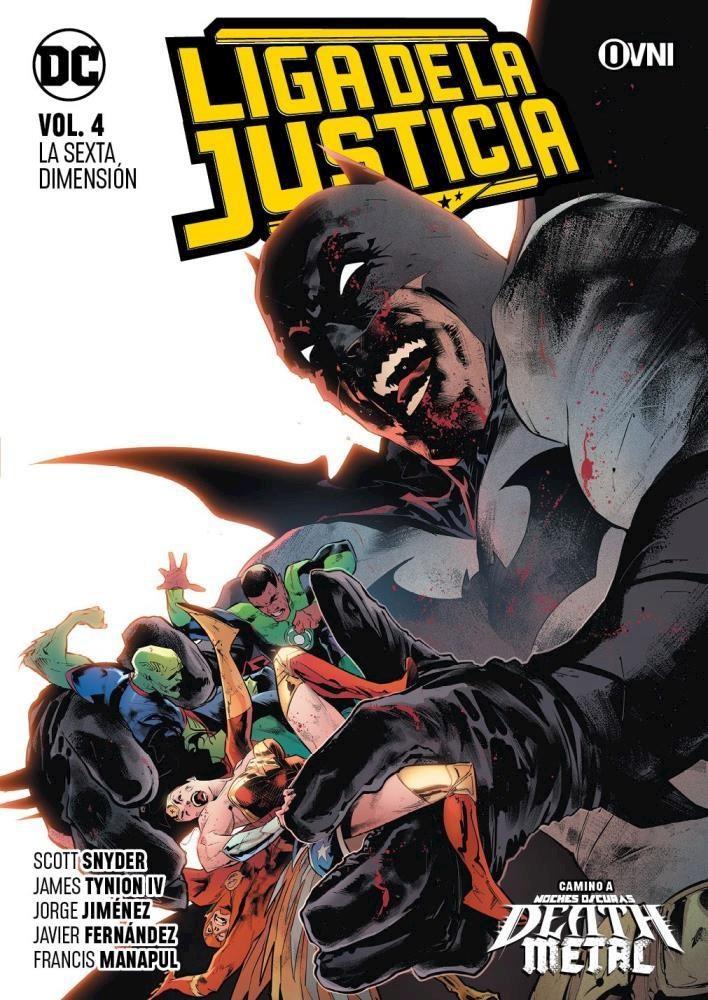 Comic Liga De La Justicia Vol. 4: La Sexta Dimensión