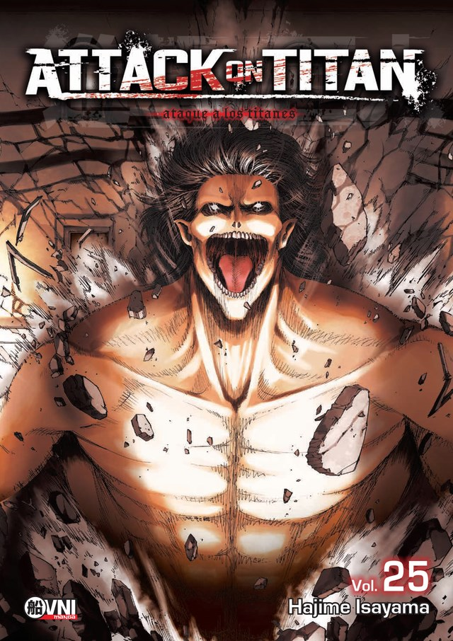 Manga Attack On Titan Vol. 25