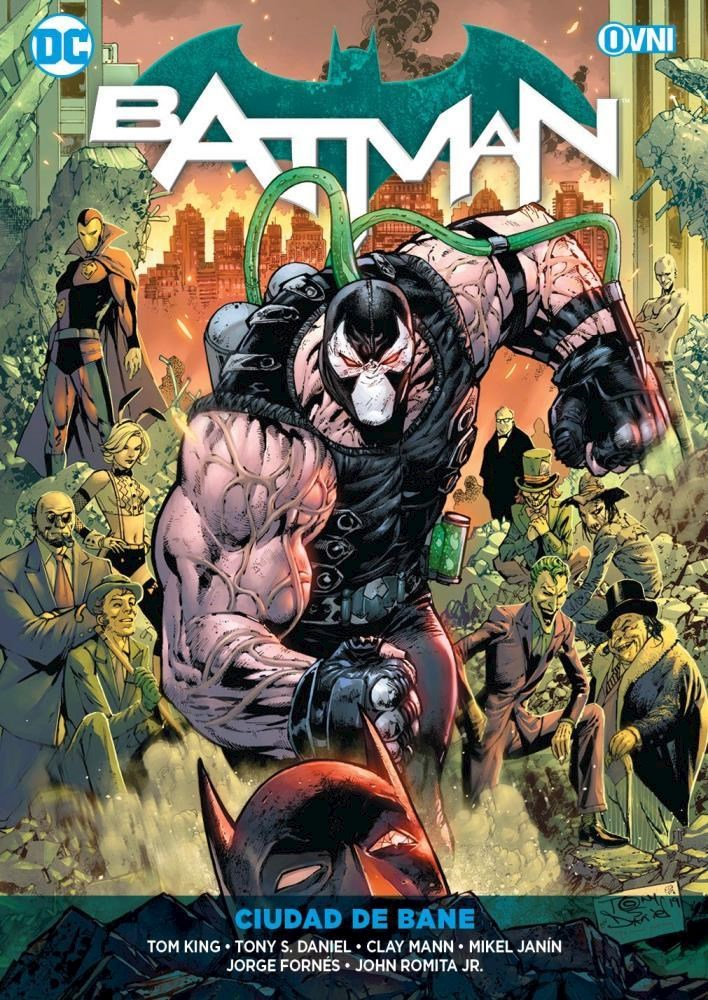 Comic Batman Vol. 11: Ciudad De Bane